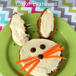 Sourdough Carrot Cake Bunnies