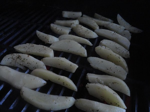 Because they are pre-cooked, we really just want some grill marks and to make...