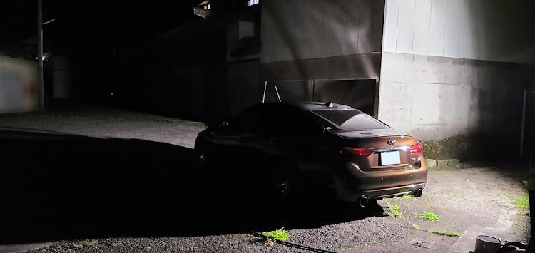 スカイライン HV37の艶々愛好会,洗車,INFINITI,IMPUL,カメ活に関するカスタム&メンテナンスの投稿画像2枚目