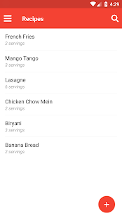 Food cost calculator apps on google play screenshot image forumfinder Gallery