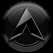 App Arc Launcher Royal Black Theme + HD Icons APK for Kindle