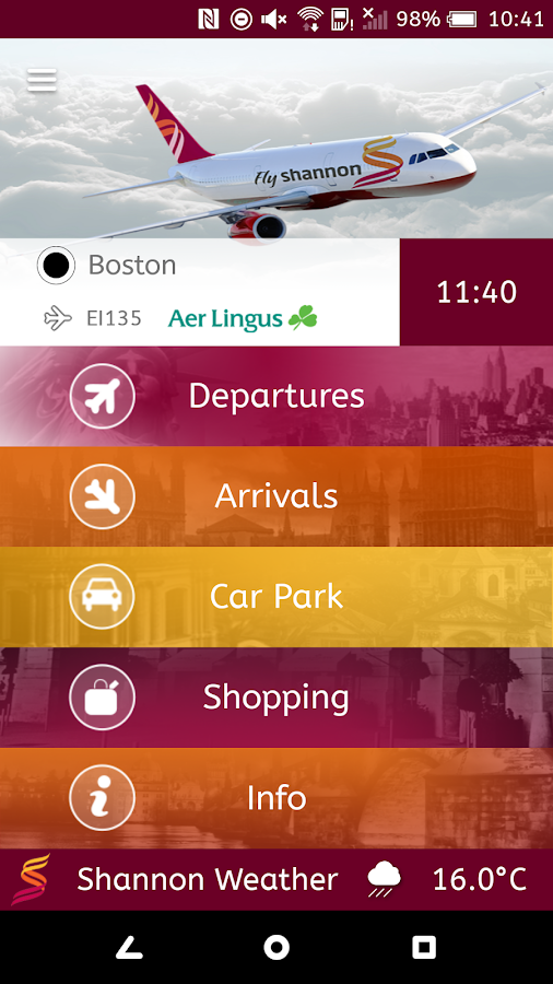 Shannon Airport- screenshot