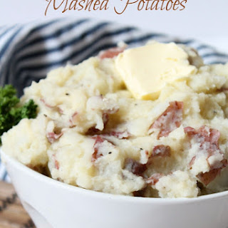Garlic Parmesan Mashed Potatoes.