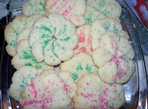 Basic Pressed & Ball Cookie Dough (1950) Recipe