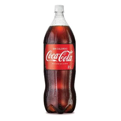 Refresco Coca Cola Sin Calorias 2lt