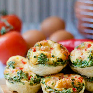 Mini Breakfast Frittatas.