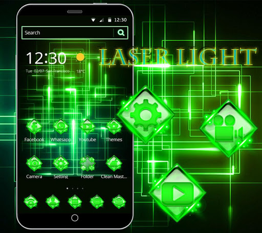 Download Green Laser Light Theme Free For Android Green Laser Light Theme Apk Download Steprimo Com