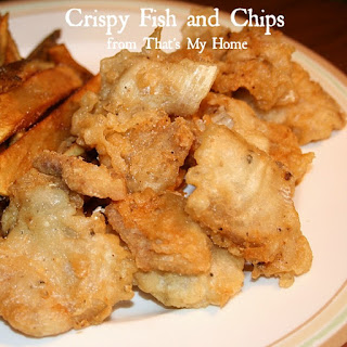 Crispy Fish and Chips.