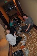 Photo: Buli a szálloda folyosón