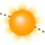 Sun Position, Sunrise, and Sunset Demo Icon