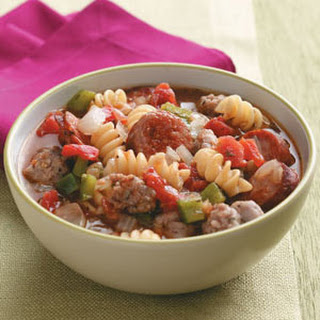 Hearty Sausage Stew.