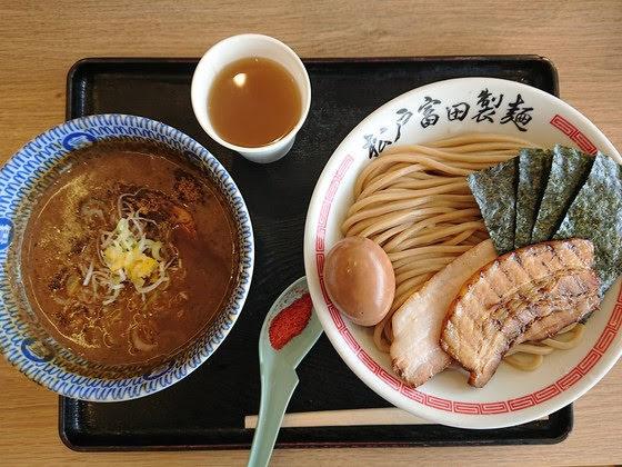 松戸富田製麺@袖ヶ浦(特製つけそば)