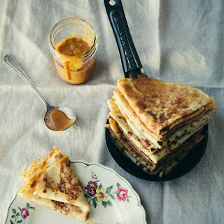 Russian Crepe-style Pancakes