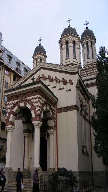 Bucharest Zlatari Church