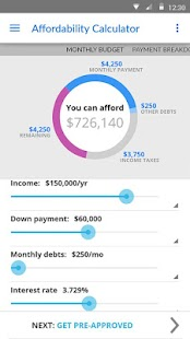 Zillow Mortgage Calculator Screenshot 2