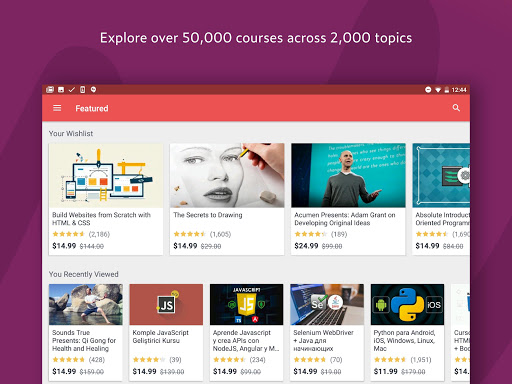 Udemy Online Courses 4.2.0 screenshots 6
