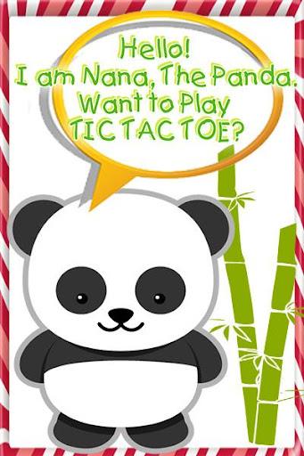 Panda Tic Tac Toe