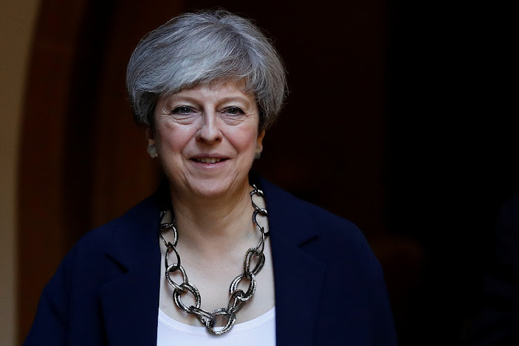 Britain's Prime Minister Theresa May. Picture: REUTERS/STEFAN WERMUTH