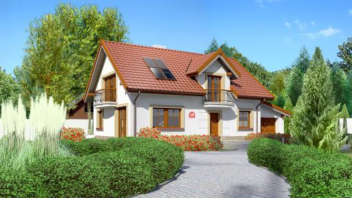projekt Dom przy Alabastrowej 18