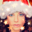 Christmas Photo Frames, Effects & Cards Art 🎄 🎅 icon
