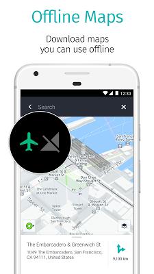 HERE WeGo - Offline Maps & GPS - screenshot