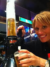 Photo: Yes, this was our beer for the 6 of us!!  Baseball Cafe, Tokyo Dome City, May 2012.