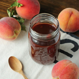 Easy Peach Chipotle Barbecue Sauce