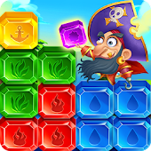Jewel Cube Blast:Crazy Pirate