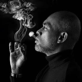 Flamboyant Virgo by Mata Arif - People Portraits of Men
