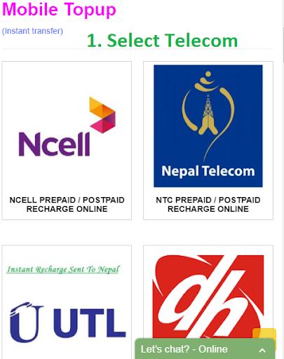 NP Recharge , Recharge to Nepal-Nepalekart by nepalekart com (Google