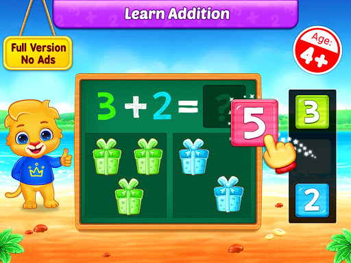Math Kids - Add, Subtract, Count, and Learn 1.2.3 screenshots 8
