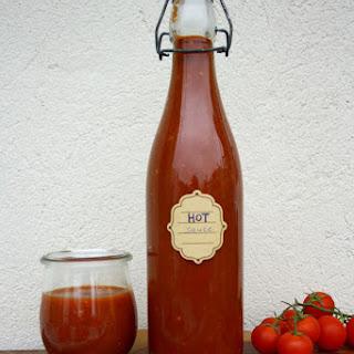 Quick Homemade Sriracha