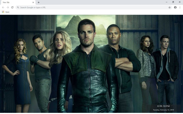 Arrow New Tab & Wallpapers Collection