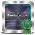 Blue harmony GO SMS icon