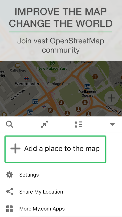 MAPS.ME – Map with Navigation and Directions– снимак екрана