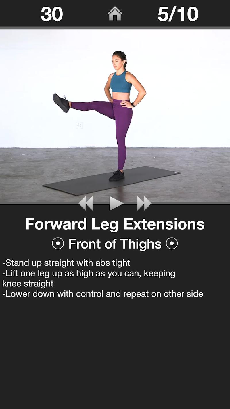 Daily Leg Workout Screenshot 2
