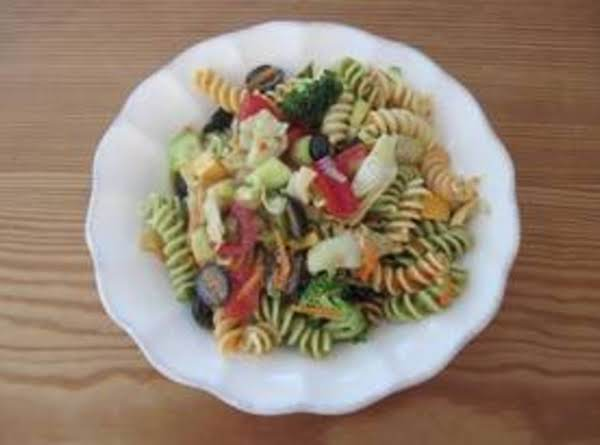 Anything Goes Pasta Salad Recipe