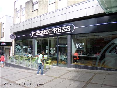 Pizzaexpress On Kings Mall Restaurant Italian In Town