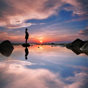 by Andrew Micheal - Landscapes Sunsets & Sunrises ( , silhouette )