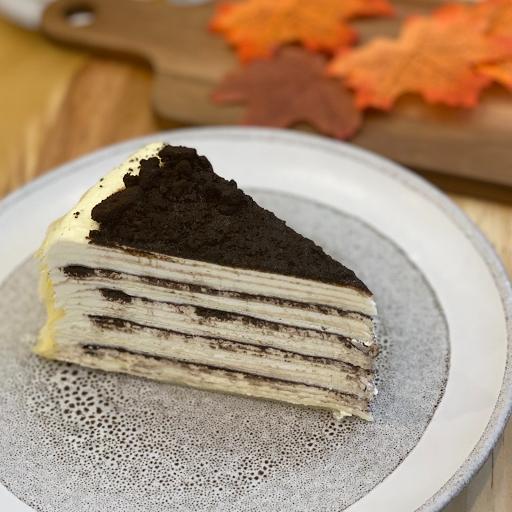 Oreo Mille Crepe Cake