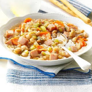 Navy Bean Vegetable Soup.