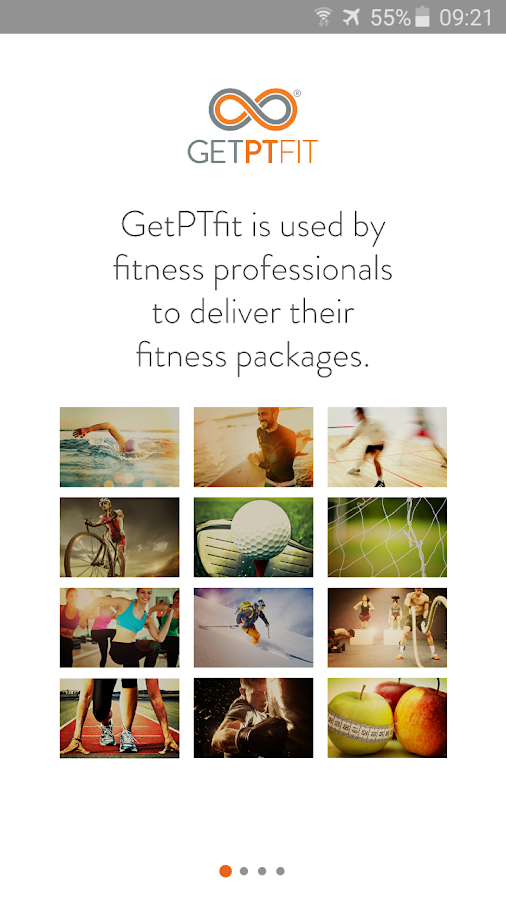 GetPTfit- screenshot