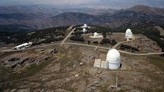 El Observatorio Calar Alto está situado en la sierra de lo Filabres.