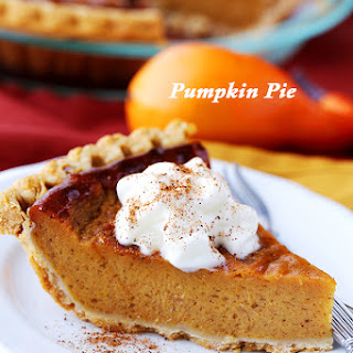 Lightened-Up Pumpkin Pie
