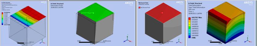 Измерение линейных и угловых перемещений граней в ANSYS Workbench