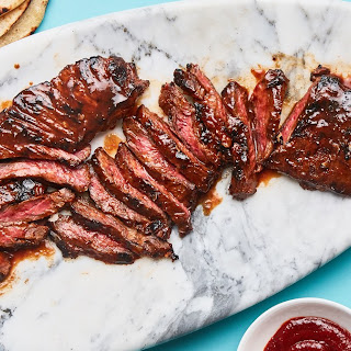 Gochujang-Marinated Skirt Steak.