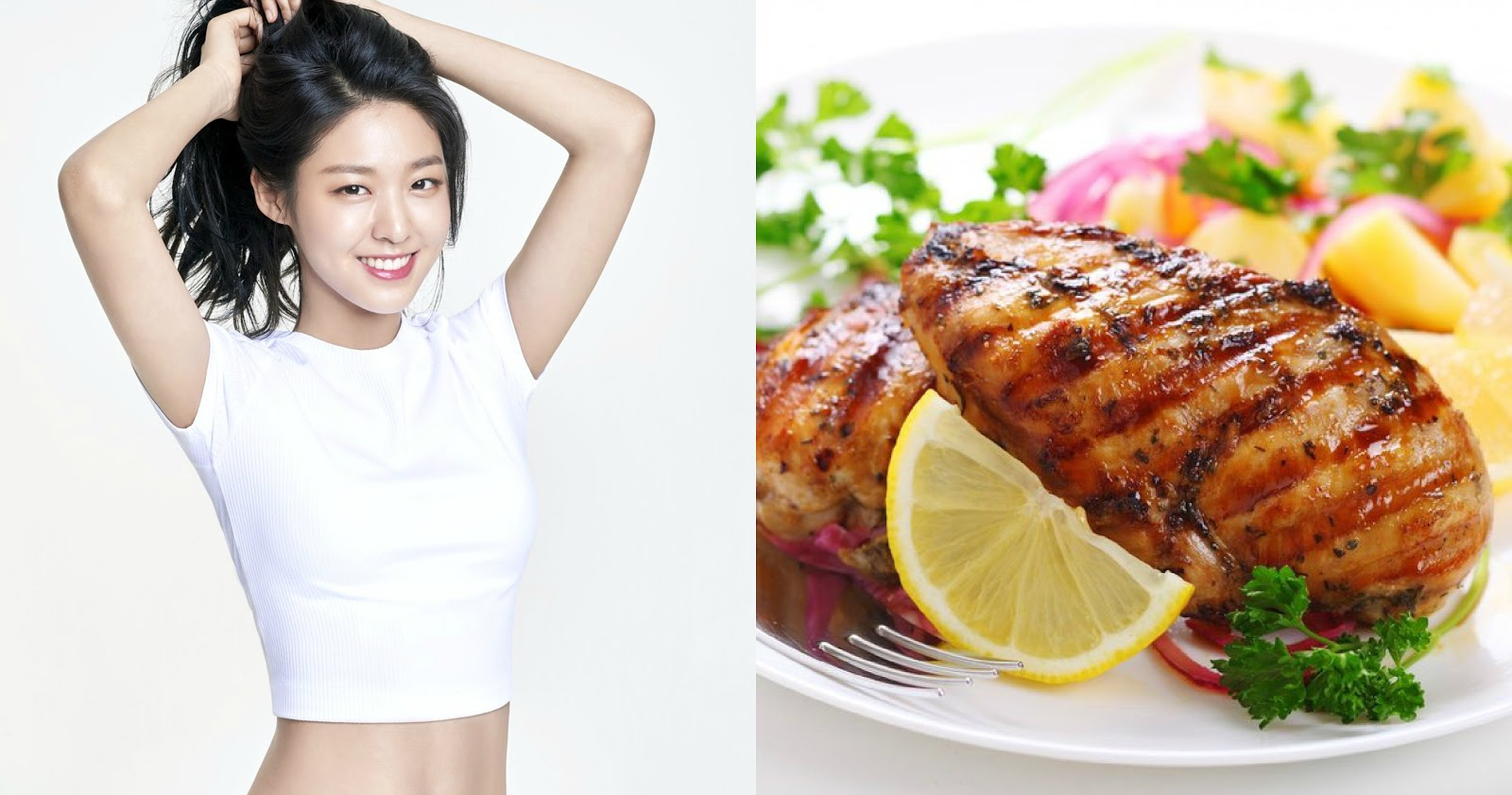 SISTAR's Dasom reveals her diet meal plan