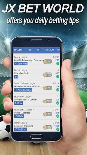 Betting Tips - JXBet World ( No ADS ) 1.1 screenshots 2