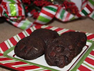 Chocolate Peppermint Cookies Recipe