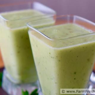 Fruity Green Gazpacho.